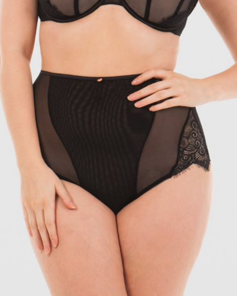 Scantily Intoxicate High Waist Brief (Black)