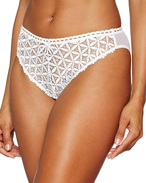 Aubade Bahia Couture Brief (White)