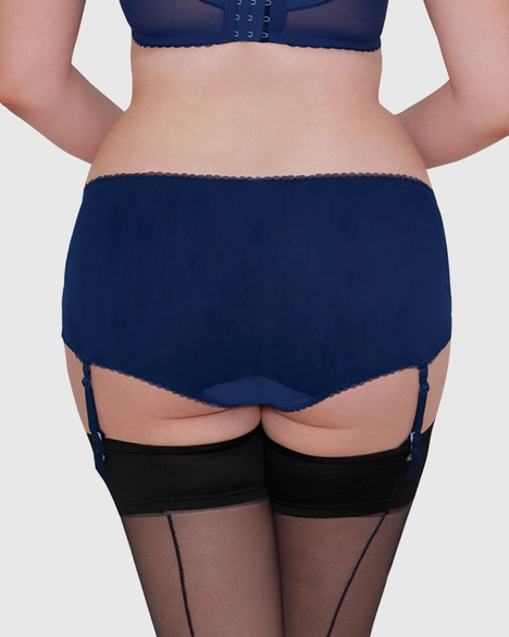 Curvy Kate Belle Suspender Short (Indigo)