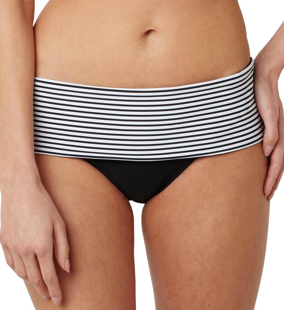 Плавки Anya Stripe Folded Swim Bottom 2XL-18 фото