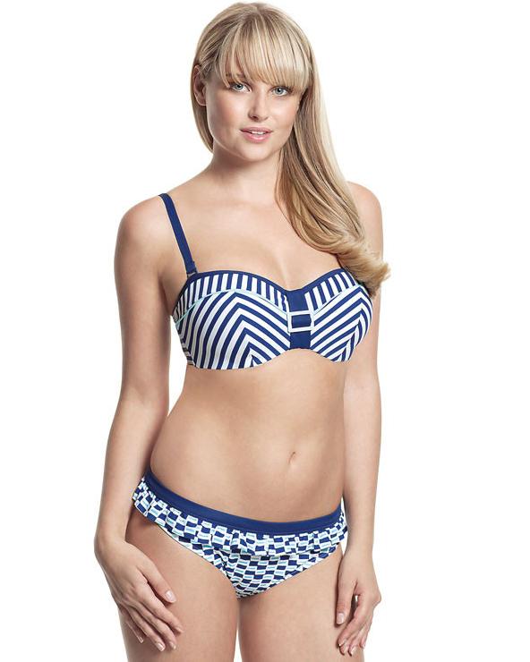 Верх купальника Panache Lucille Bandeau bikini top 65D фото