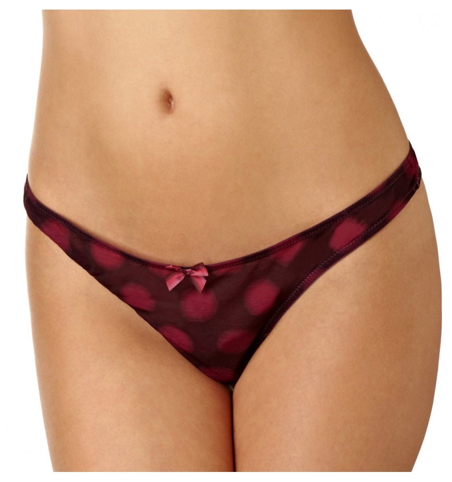 Panache Molly Thong (Plum) 2XL-18 фото