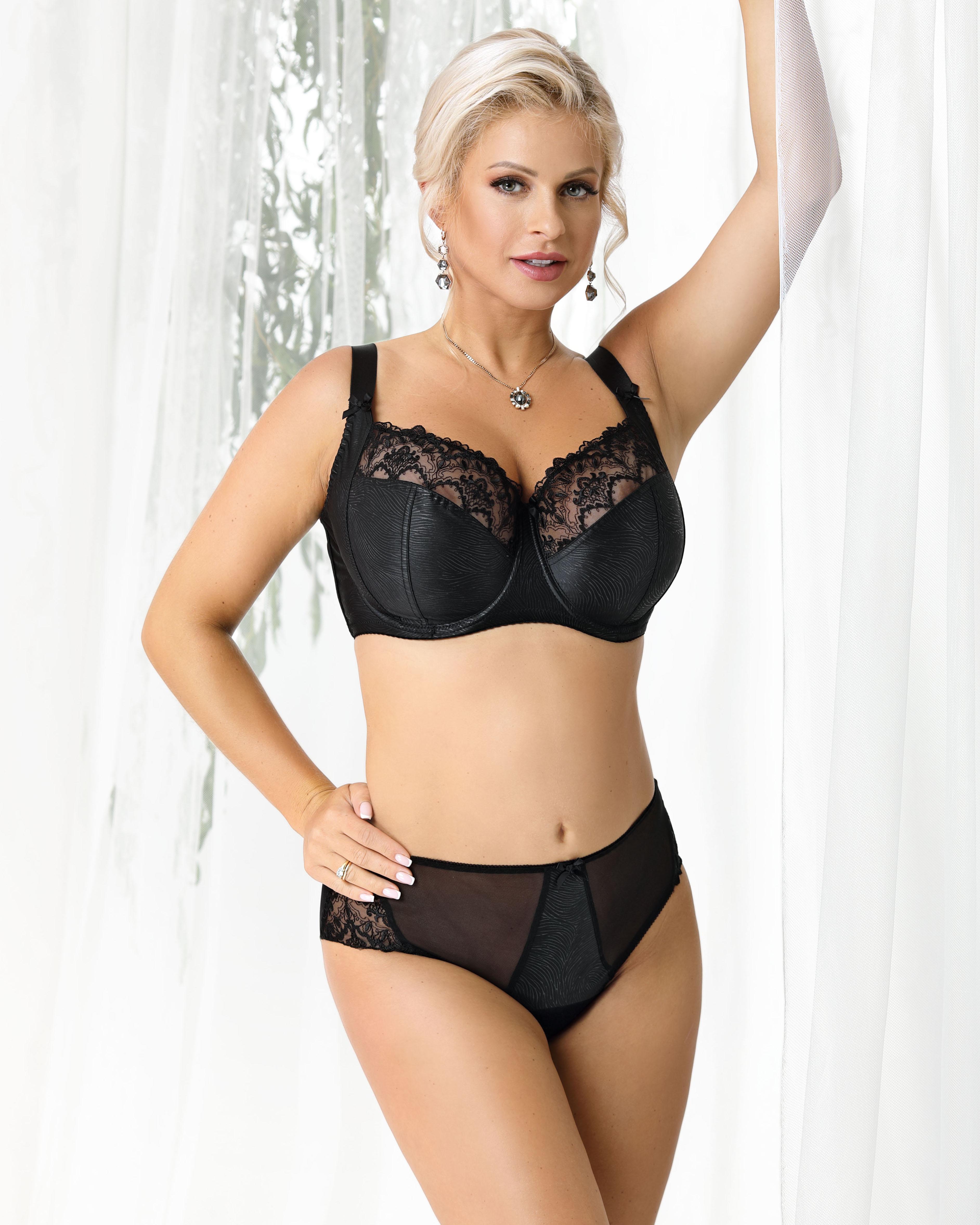 Nessa Clarisse soft Bra (Black) 85G фото