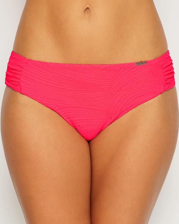 Плавки Fantasie Ottawa Mid-Rise Gathered Bikini Bottom (Azalea) 2XL-18 фото
