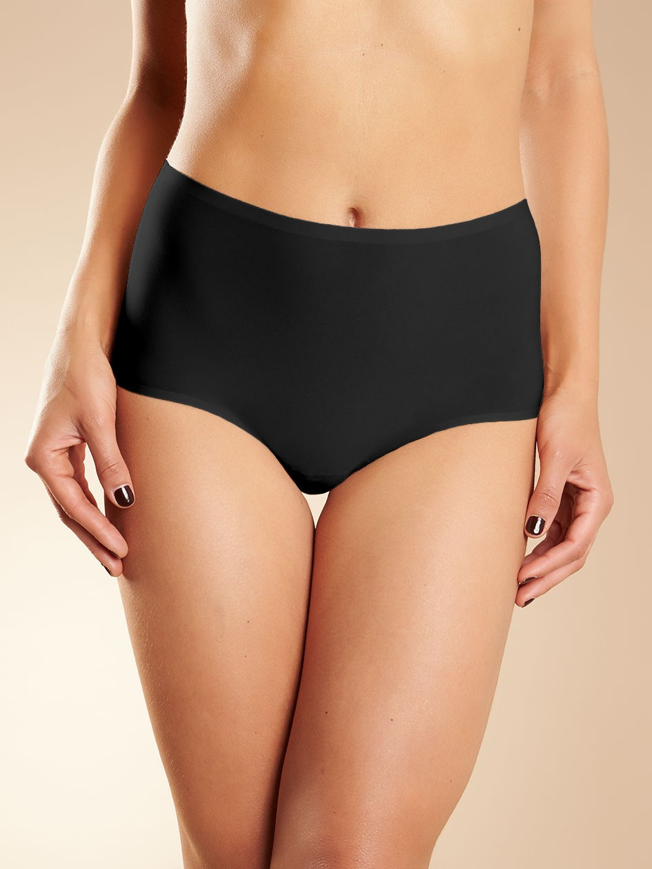 Chantelle 1 Soft Stretch High Waist Brief (Black) OS фото