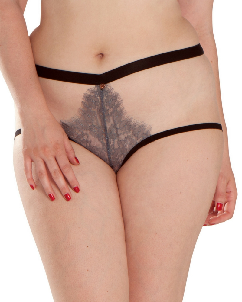Scantilly Captivate Thong (Slate) S-10 фото