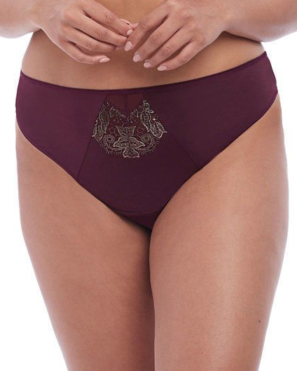 Elomi Eugenie Thong Brief (Gilded Berry) M-12 фото