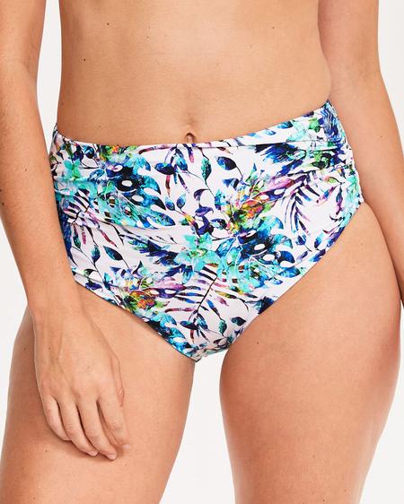 Плавки Fantasie Fiji Deep Gathered Bikini Brief (Multi) XL-16 фото