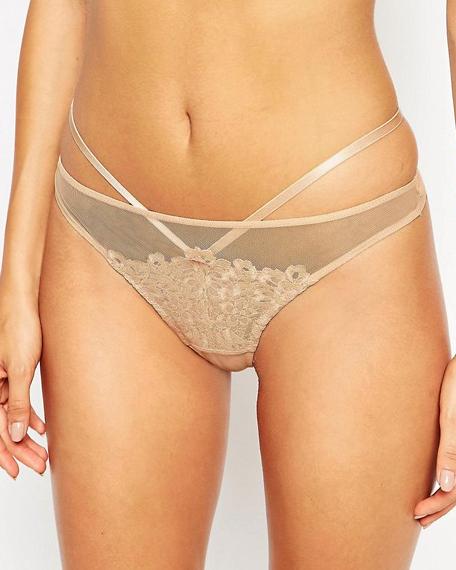 Dita Von Teese Dahlia Bikini (Creme Caramele) XL-16 фото