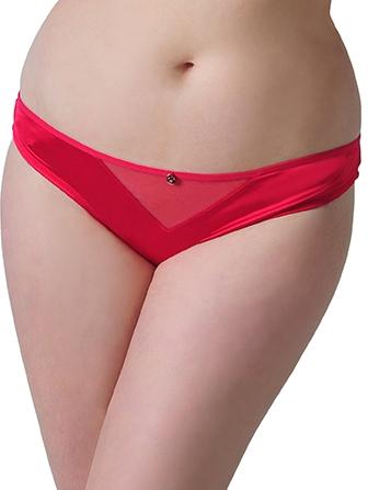 Scantilly Peek A Boo Bare Faced Brief ST2395 (Crimson) M-12 фото