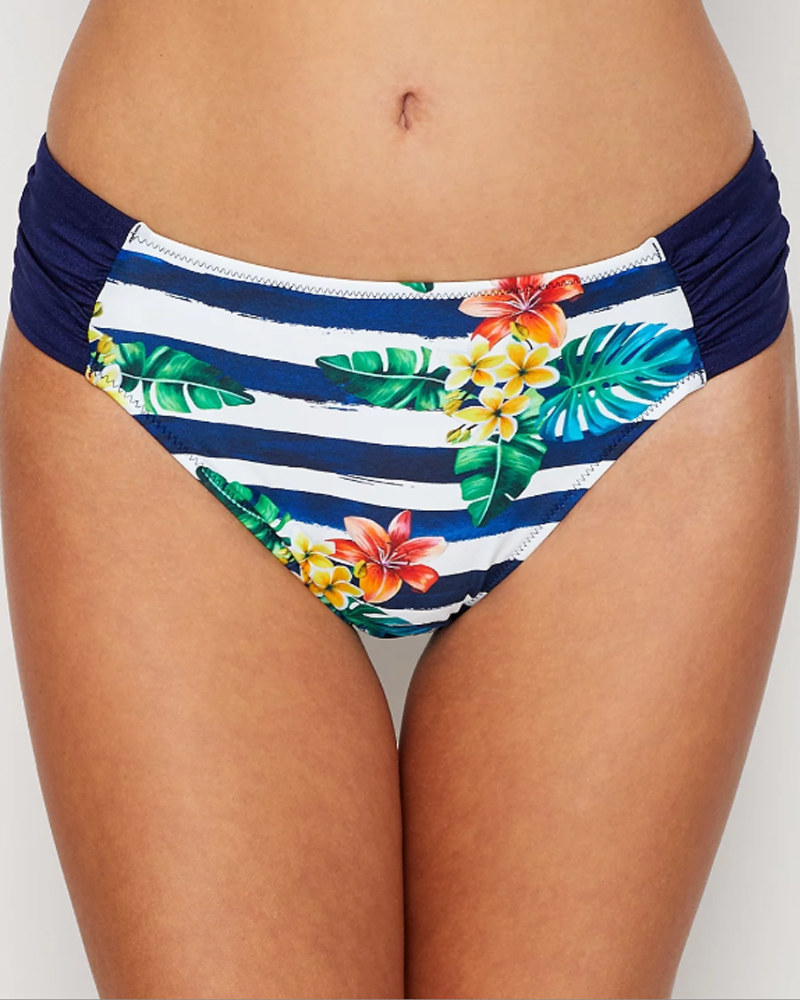 Плавки Fantasie Porto Mid Rise Bikini Brief (Twilight) 2XL-18 фото
