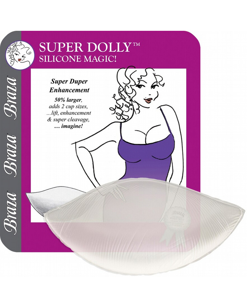 Силиконовые вкладки для бюстгальтера Braza Super Dolly OS фото
