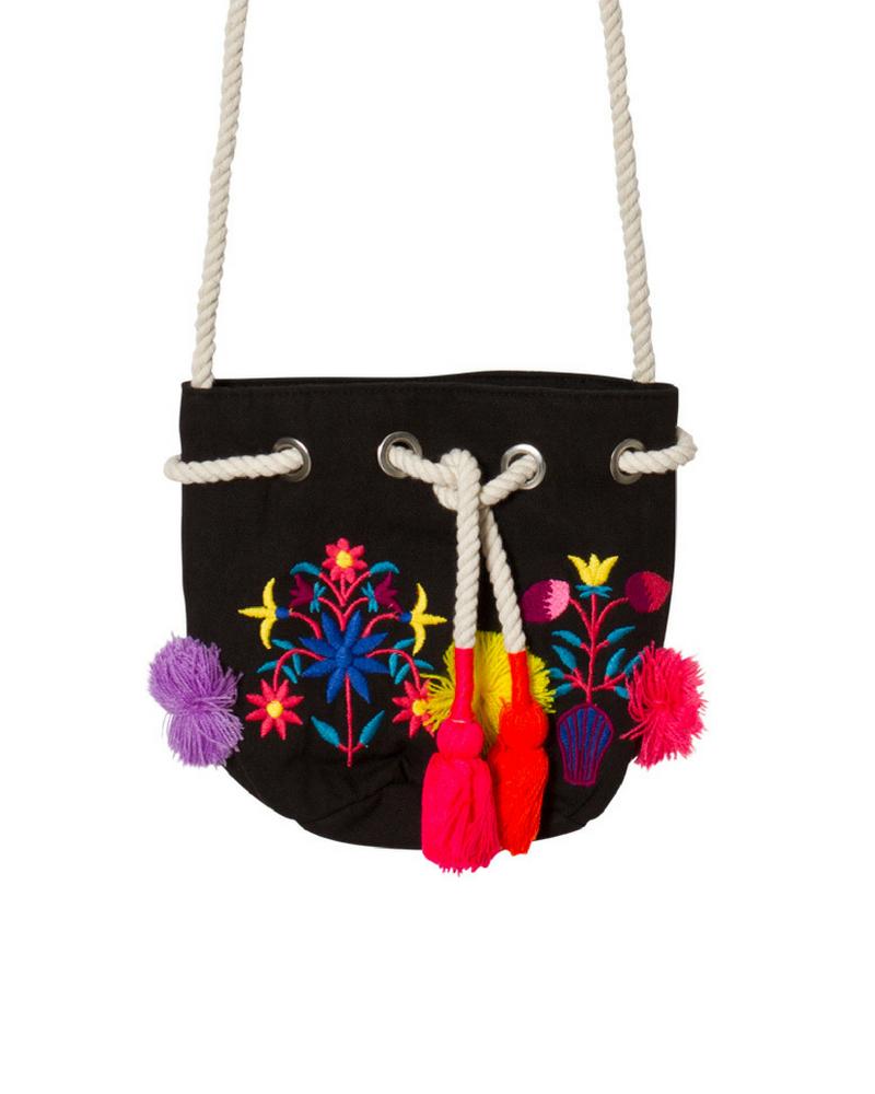 Сумка Seafolly KD Carrid Away Kids Folk Bucket Bag (Multi) OS фото