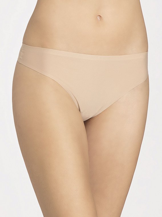 Chantelle 1 Soft Stretch Thong (Nude) OS фото