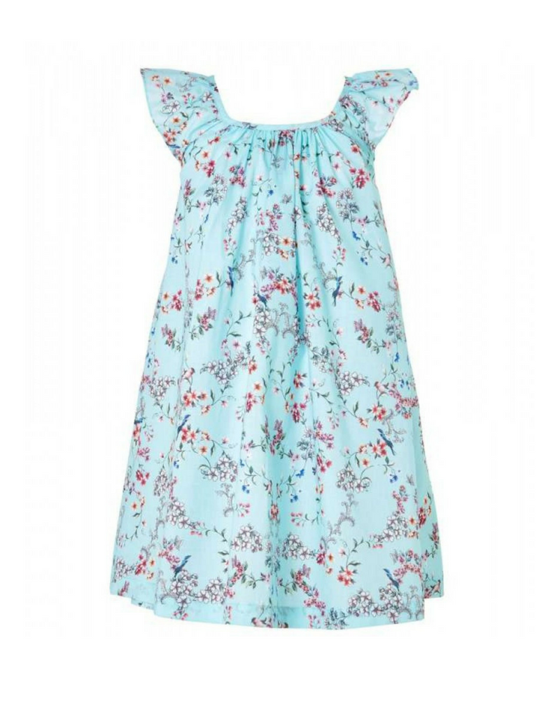 Сарафан Seafolly Blue Birds Gdn Frill Dress (Blue Bird)